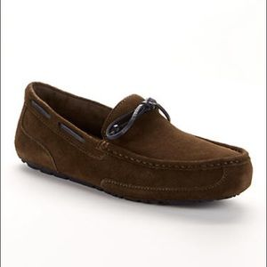 Ugg Chester Suede Moccasins Slippers Shoes Brown